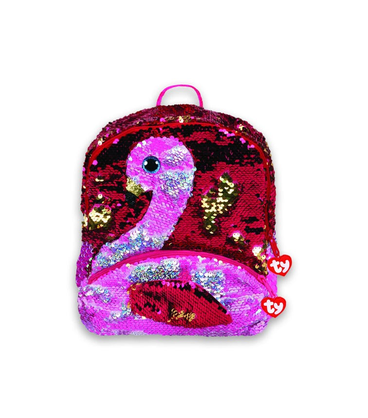 TY Fashion Sequin Flamingo Gilda Backpack