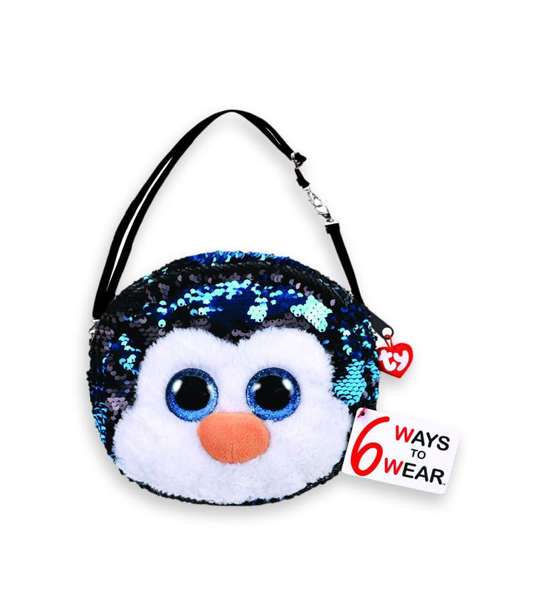 TY Fashion Sequin Penguin Waddle Purse