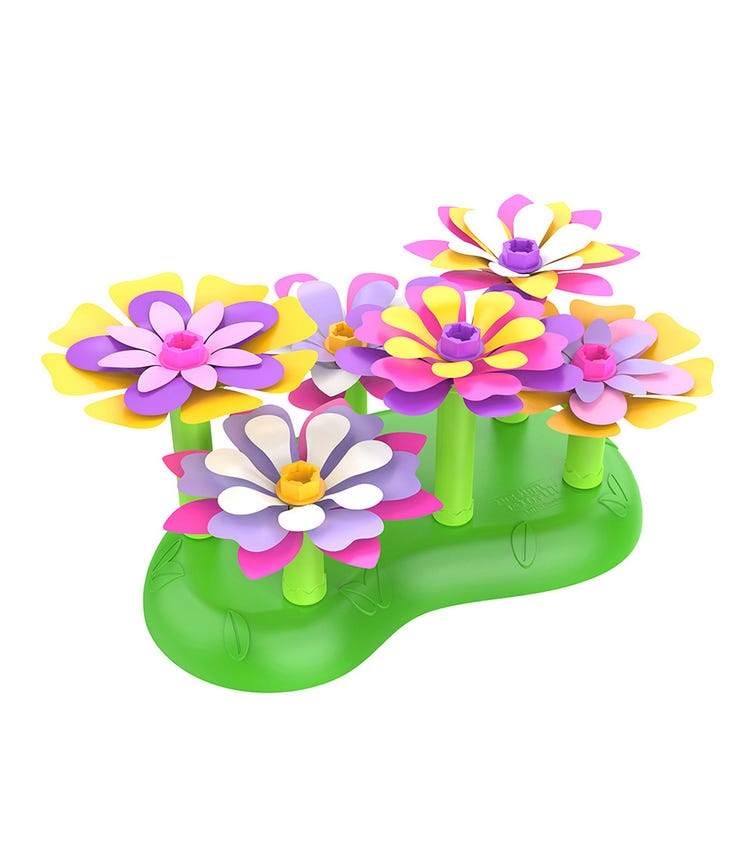 LEARNING RESOURCES Educational Insights Design Drill Stem Garden Flower Building