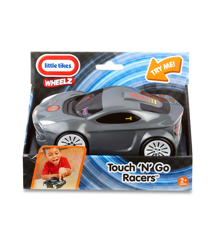 LITTLE TIKES Touch N' Go Racers - Black Sports Car