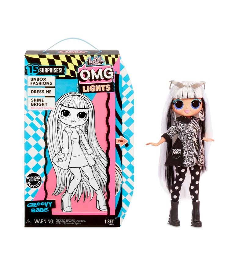 L.O.L. Surprise OMG Doll Lights Series - Groovy Babe