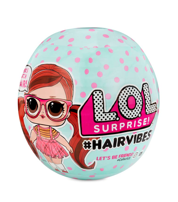 LOL SURPRISE Hairvibes Tots (Assorted)