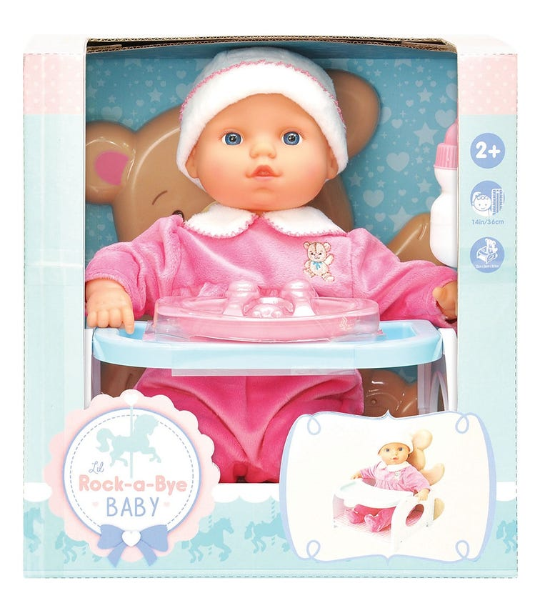 """LOTUS 14""""/36Cm Soft-Bodied Baby Doll"""