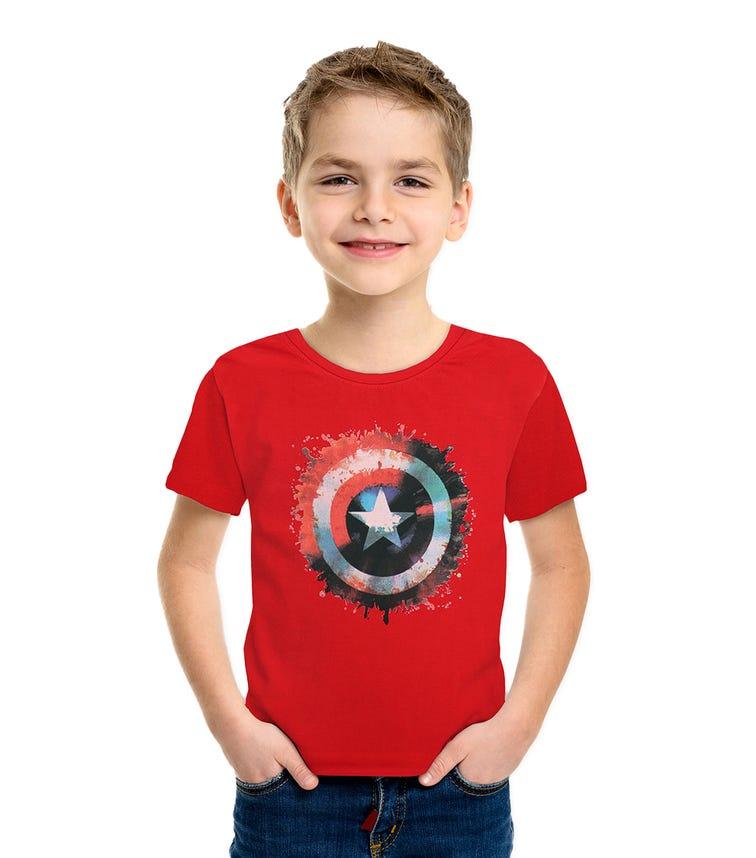 MARVEL Captain America Boys T-shirt - Red