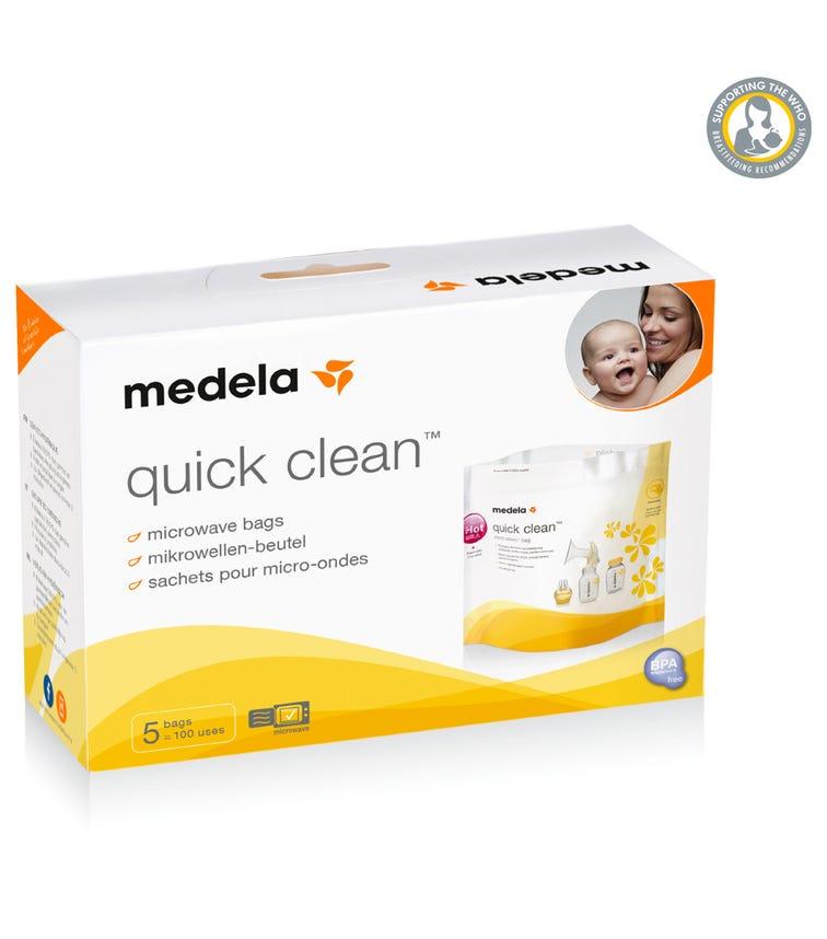 MEDELA Quick Clean Microwave Bags (5 Pack)