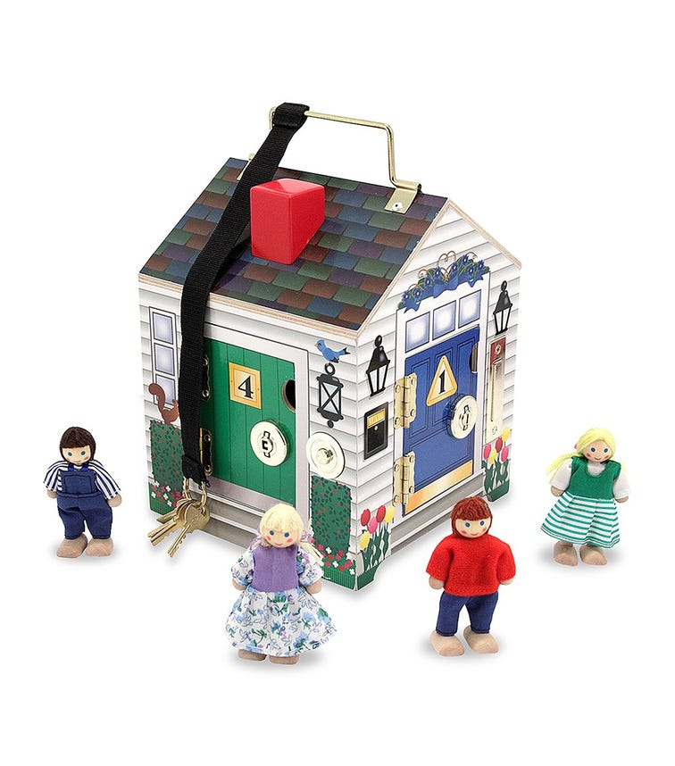 MELISSA&DOUG Doorbell House
