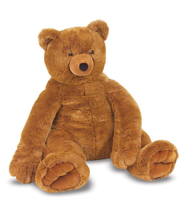 MELISSA&DOUG Jumbo Brown Teddy Bear