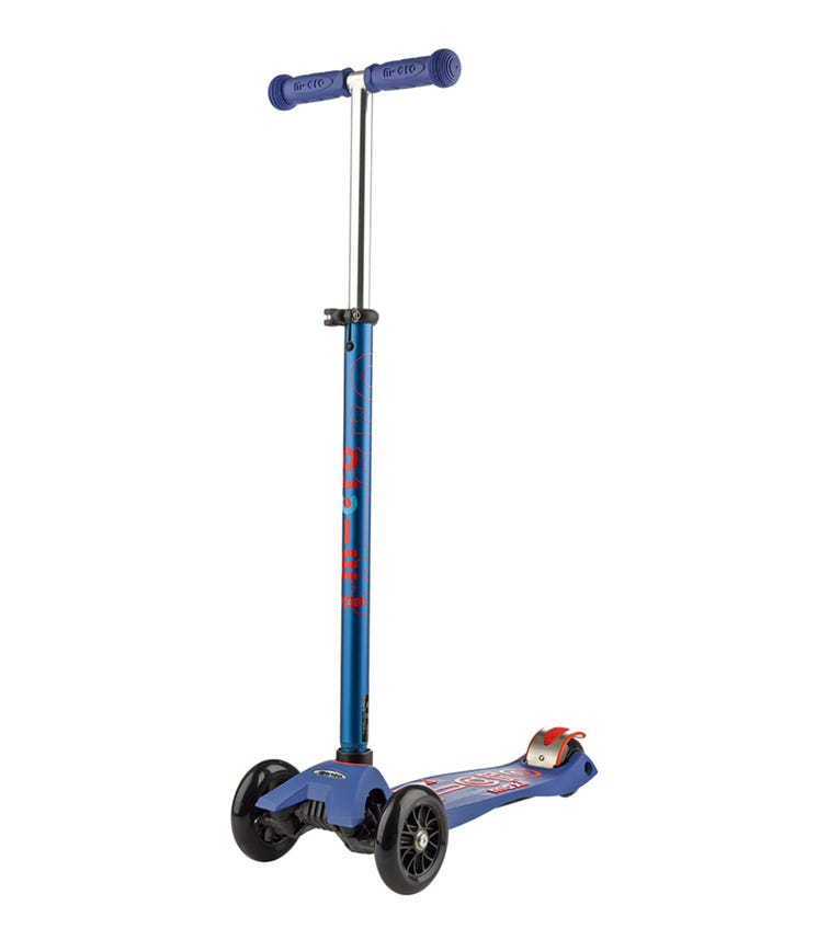 MICRO Maxi Deluxe Scooter With T-bar Blue