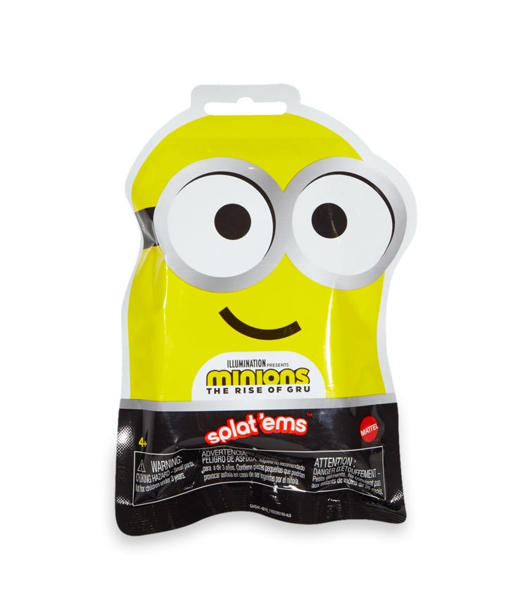 MINIONS Splat Ems Blind Bags Assorted