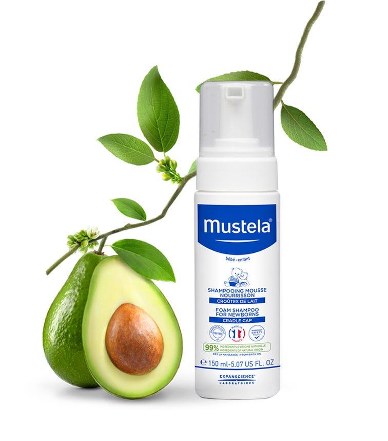 MUSTELA - Foam Shampoo For Newborns 150 ML