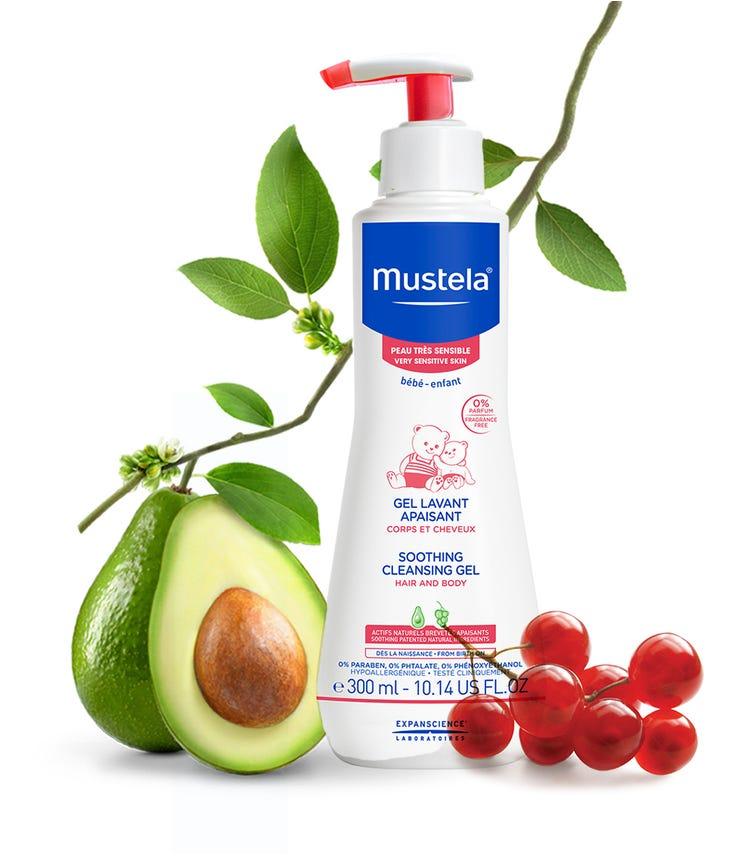 MUSTELA Soothing Cleansing Gel Hair And Body 300 ML