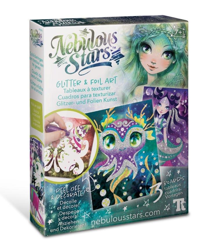 NEBULOUS STARS Glitter N Foil Art N Craft Kits