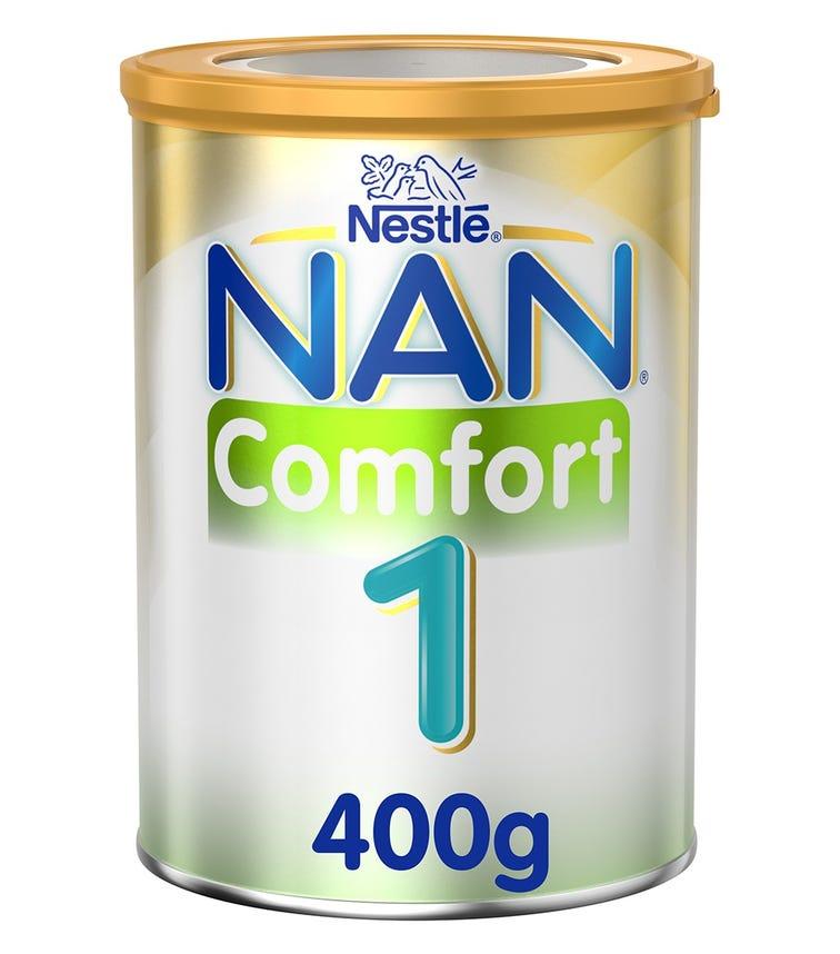 NESTLE Nan Comfort 1 - Starter Infant Formula (0-12 Months) - 400 G