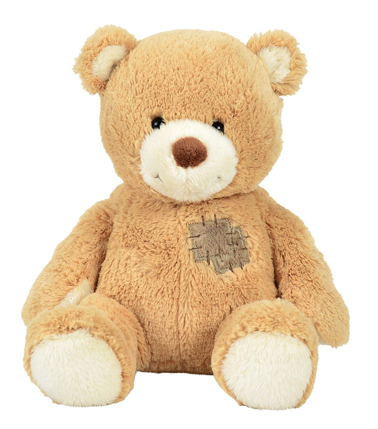 NICOTOY Bear With Patch (25cm) Assorted