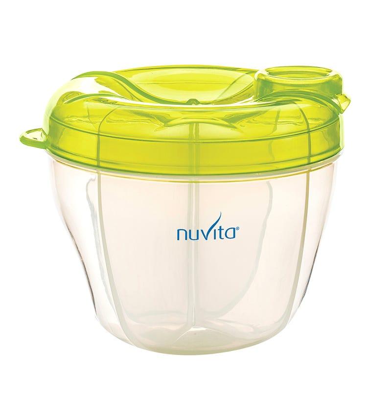 NUVITA Milk Powder Container And Dispenser - Green