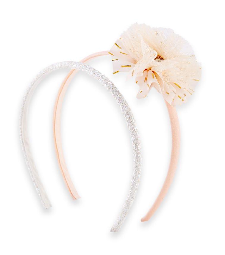 OSHKOSH 2-Pack Plume Headbands