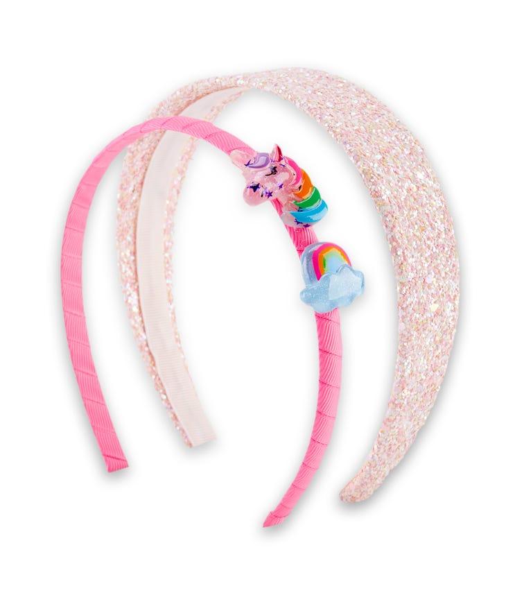 OSHKOSH 2-Pack Rainbow Unicorn Headbands