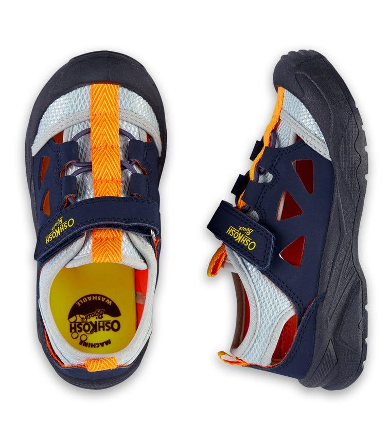 OSHKOSH Colorblock Bump Toe Sandals