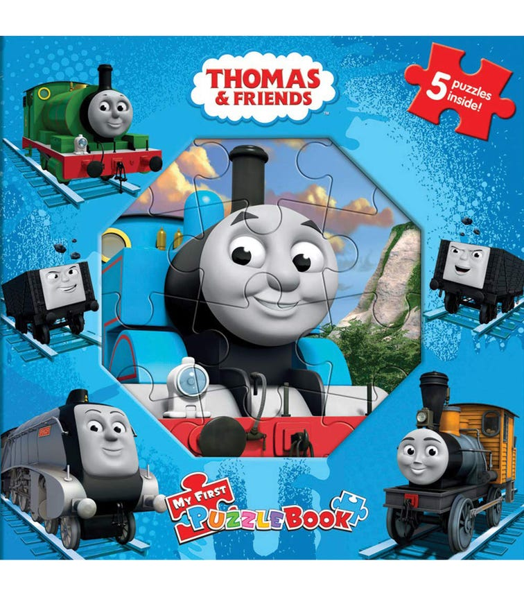 PHIDAL Thomas My First Puzzle Book