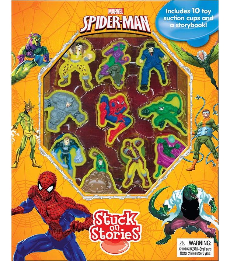 PHIDAL Marvel Spiderman Stuck On Stories