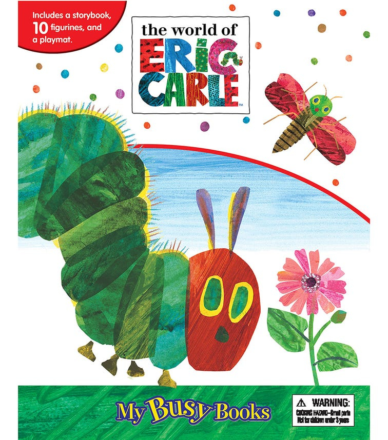 PHIDAL Eric Carle My Busy Books