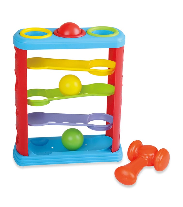 PLAYGO Hammer And Roll Tower