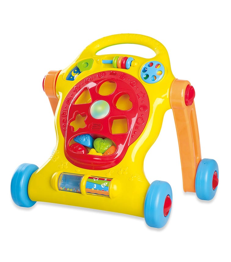 PLAYGO Lights & Tune Activity Walker - Battery Operated