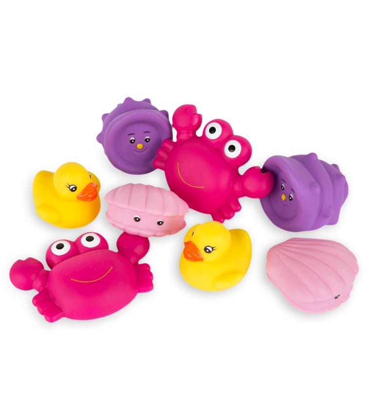 PLAYGRO Floating Sea Friends Pink - Fully Sealed