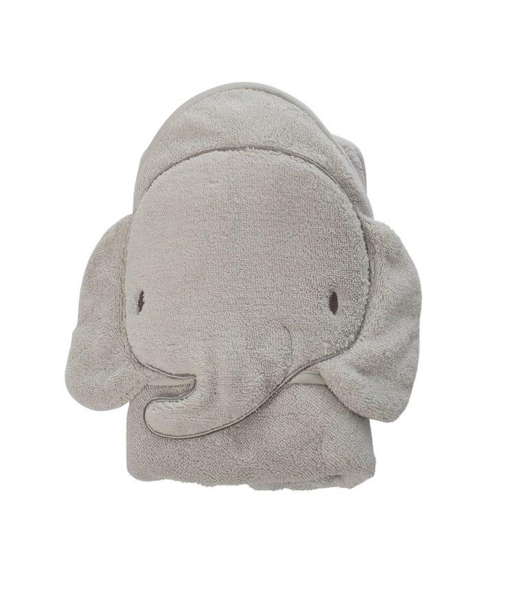 PLAYGRO  Home Hooded Towel Elephant