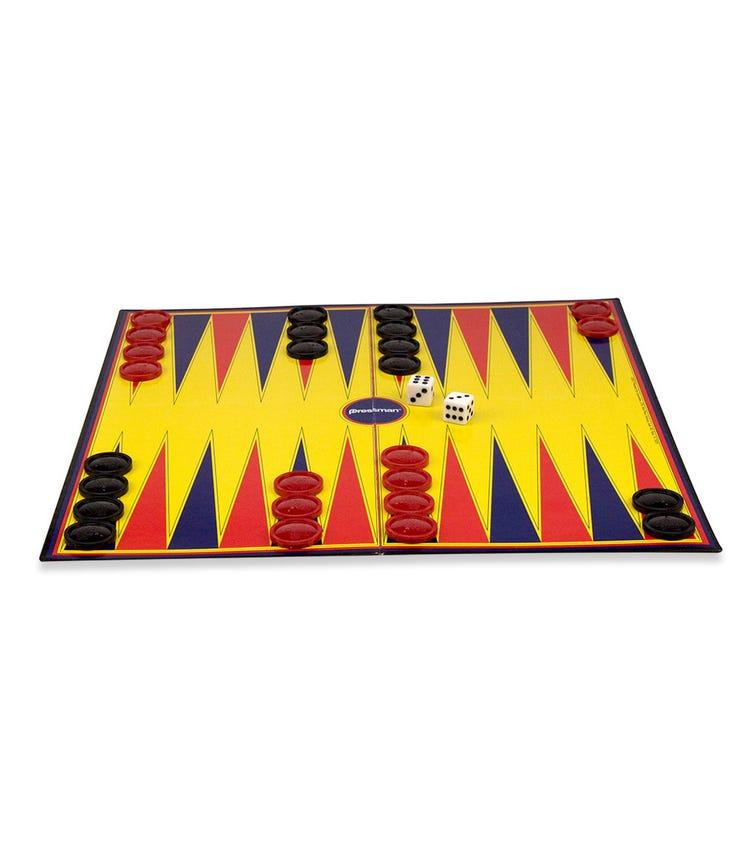 PRESSMAN Folding Board Backgammon