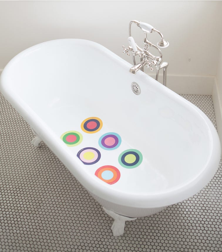 PUJ Bath Treads Rings 6 Pieces