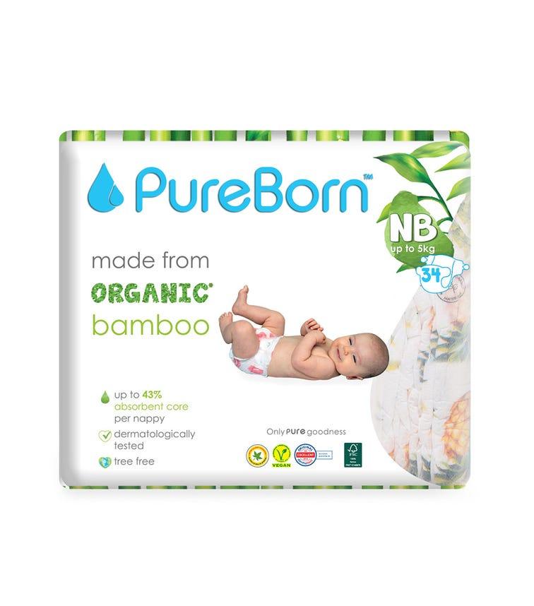 PURE BORN New Born Single 0 To 4.5Kg 34'S