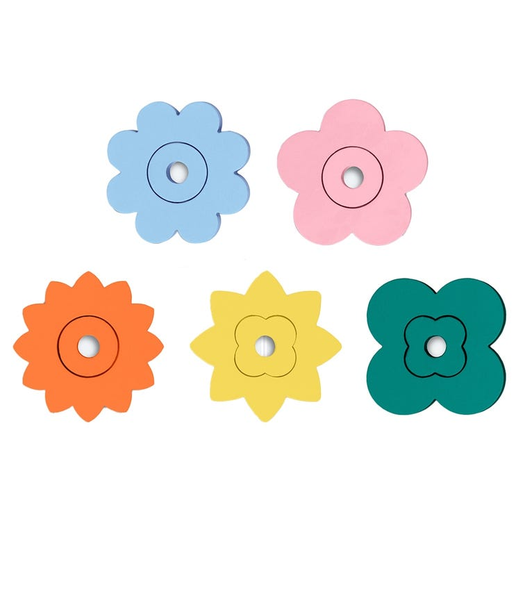 QUUT Quutopia Bath Stickers Flower Power