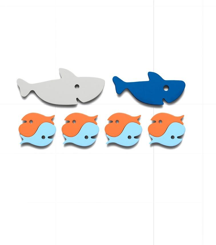 QUUT Quutopia Bath Stickers Shark