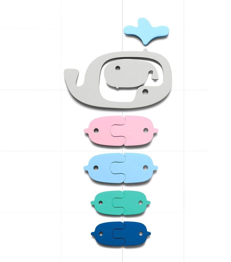 QUUT Quutopia Bath Stickers Whale