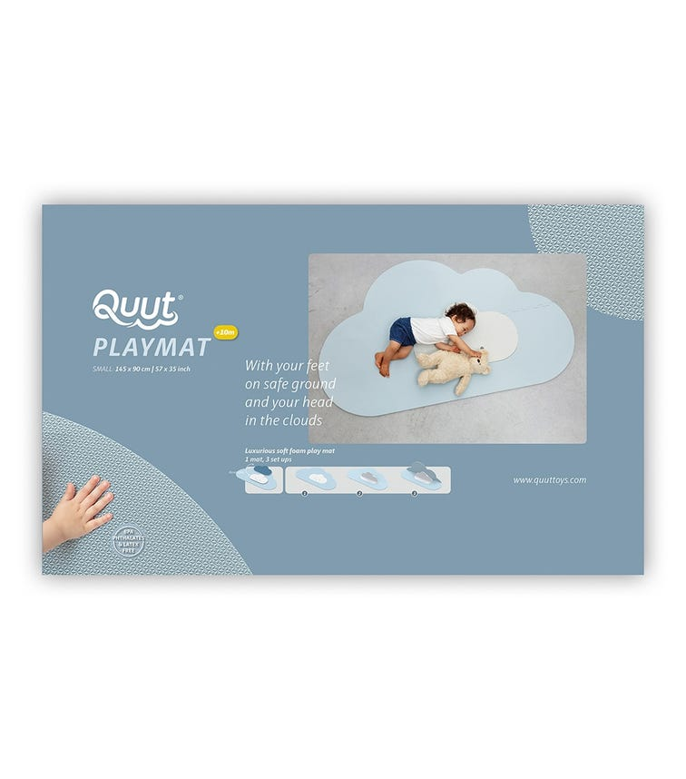 QUUT Playmat Cloud Small Dusty Blue