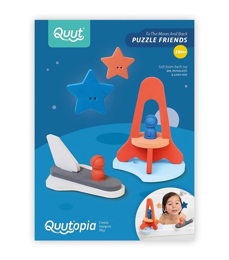 QUUT Quutopia Bath Puzzle 3D To The Moon And Back