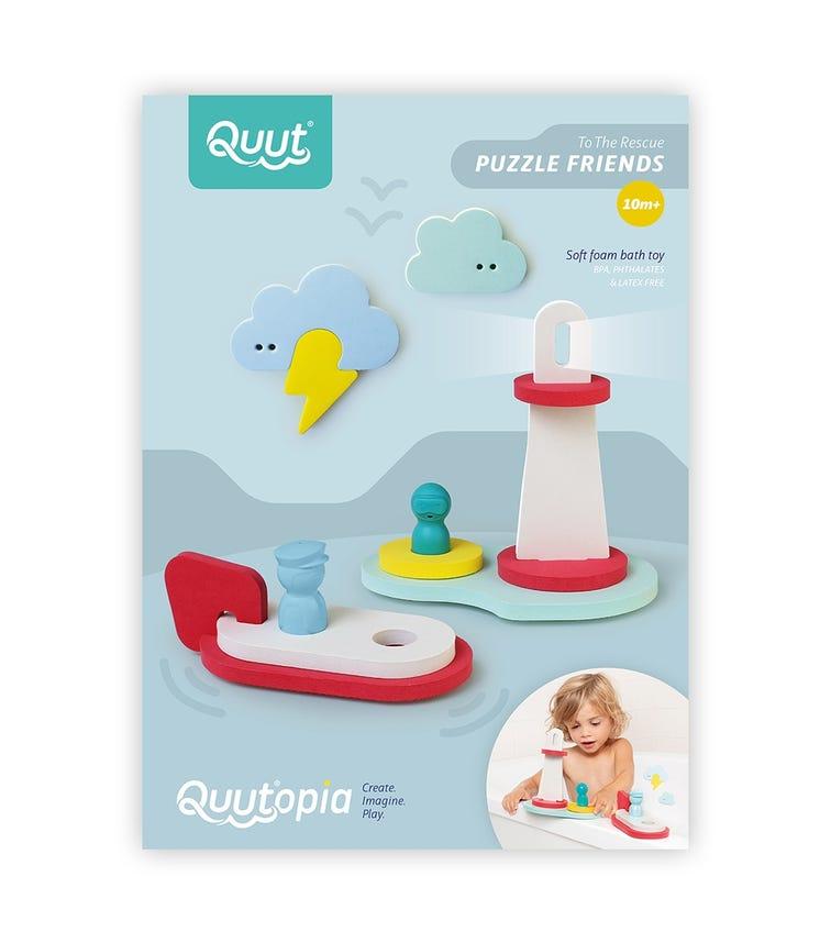 QUUT Quutopia Bath Puzzle 3D To The Rescue