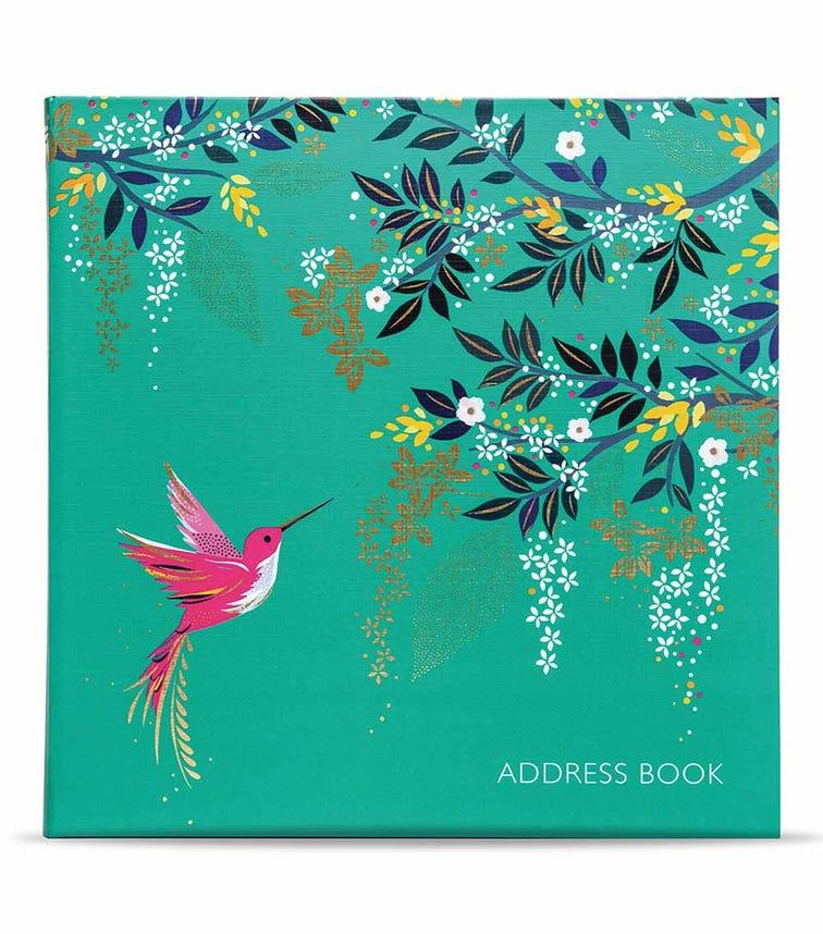 SARA MILLER Hummingbird Address Book