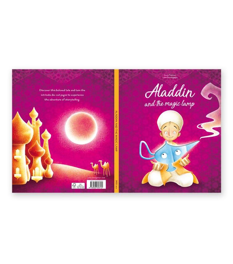 SASSI Die-Cut Reading Aladdin And The Magic Lamp