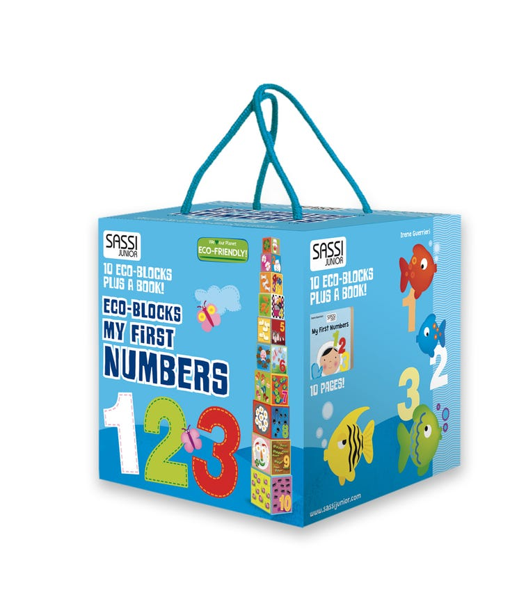 SASSI Eco Blocks My First Numbers