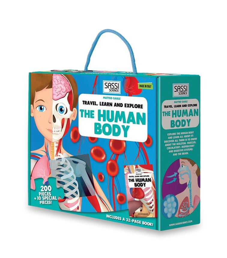 SASSI Travel Learn And Explore The Human Body