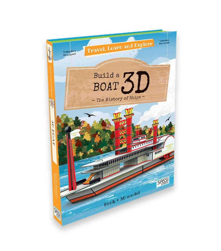 SASSI Travel Learn And Explore 3D Build A Boat