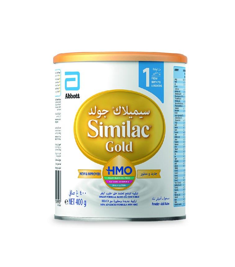 SIMILAC Gold HMO Infant Formula 1 - 400G