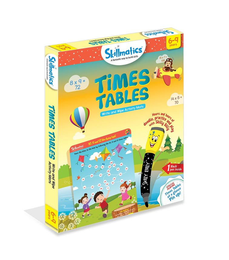 SKILL MATIC Educational Game Times Tables