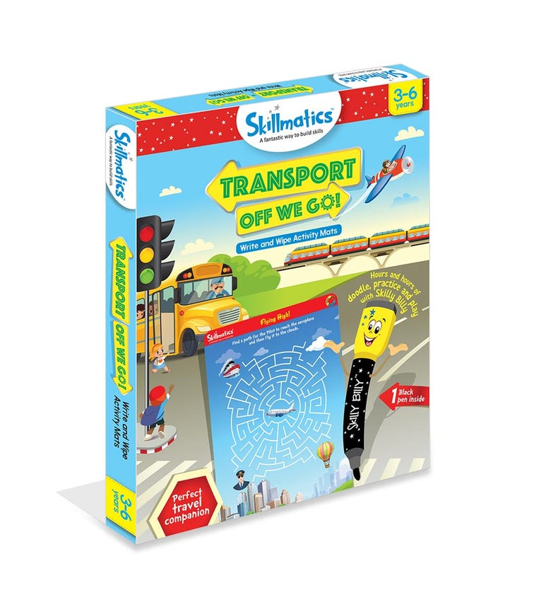 SKILL MATIC Educational Game Transport Off We Go