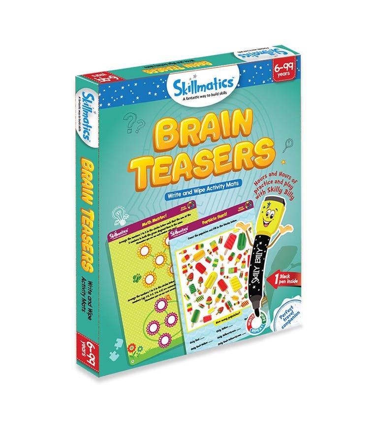 SKILL MATIC Educational Game Brain Teasers
