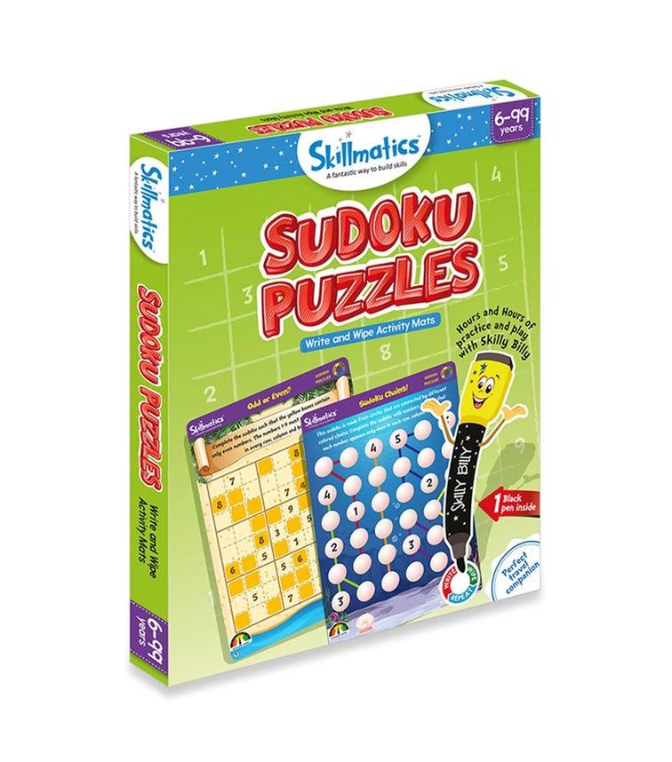 SKILL MATIC Educational Game Sudoku Puzzles