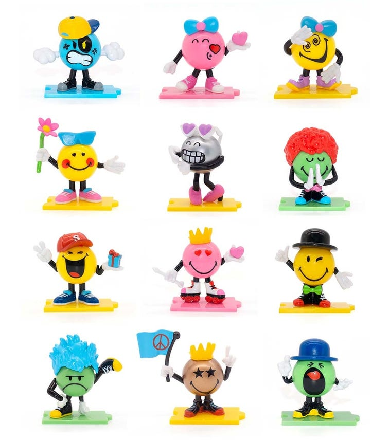 SMILEYS Characters S1 3 Pieces Pack