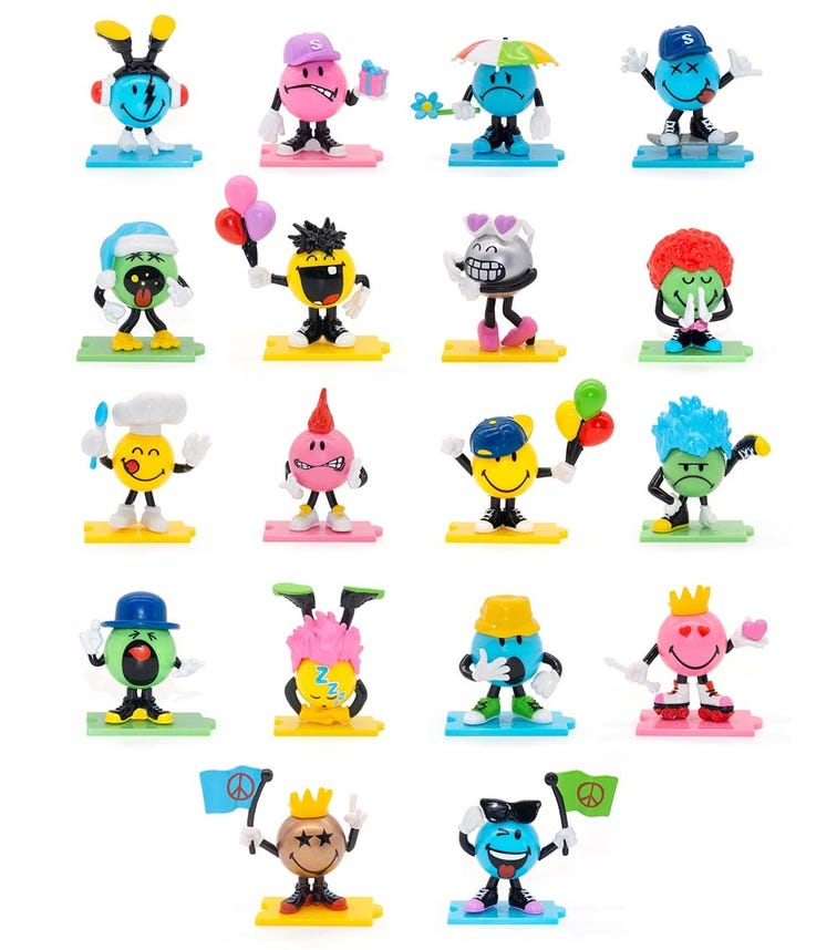 SMILEYS Characters S1 5 Pieces Pack